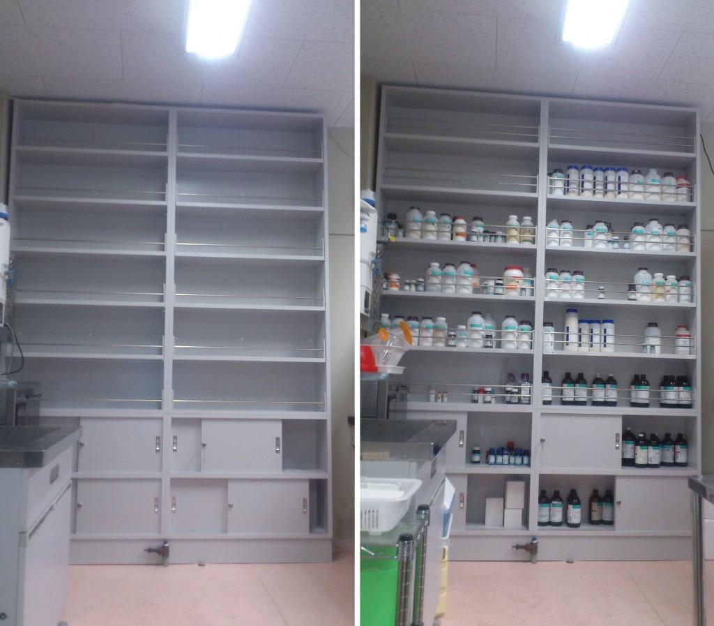 特型薬品棚